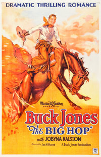 "The Big Hop (Buck Jones Productions, 1928). One Sheet (25.25"" X 39"")"