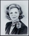 Miscellaneous Collectibles:General, Lauren Bacall Signed Photograph....