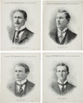Baseball Cards:Lots, 1899 - 1900 M101-1 Sporting News Supplements Collection (10). ...