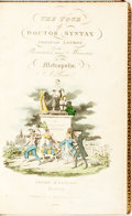Books:Literature Pre-1900, Rowlandson, Thomas and William Combe--Imitation. The Tour of Doctor Syntax Through London, or the Pleasures and ...