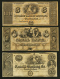 Obsoletes By State:Louisiana, New Orleans, LA - Canal Bank $20 18__ and $50 18__ Remainder; Citizens' Bank of Louisiana $100 18__ Remainder. ... (Total: 3 notes)