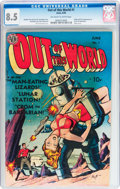 Golden Age (1938-1955):Science Fiction, Out of This World #1 (Avon, 1950) CGC VF+ 8.5 Off-white to whitepages....