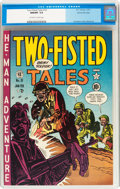 Golden Age (1938-1955):War, Two-Fisted Tales #19 Gaines File pedigree 2/10 (EC, 1951) CGC NM/MT9.8 Off-white to white pages....