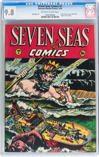 Seven Seas Comics #1 (Universal Phoenix Feature, 1946) CGC NM/MT 9.8 Off-white to white pages