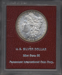 1879 $1 MS65 Paramount. NGC Census: (677/98). PCGS Population (1032/150). Mintage: 14,807,100. Numismedia Wsl. Price for...