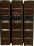 Books:Reference & Bibliography, [Encyclopedia] Facsimile of the First Edition EncyclopediaBritannica Published in 1771. 1979. Three quarto volumes.Lacking... (Total: 3 Items)
