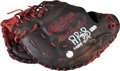 Baseball Collectibles:Others, 2009-12 Albert Pujols Game Used, Signed First Baseman's Glove WithPujols Signed Letter. ...