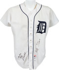 Baseball Collectibles:Uniforms, 1984 Kirk Gibson Game Worn Detroit Tigers Jersey - With Equipment Manager's Authentication. ...