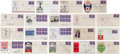 Baseball Collectibles:Others, 1939 Baseball Centennial First Day Covers Lot of 19....