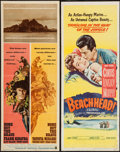 """Movie Posters:War, None But the Brave & Other Lot (Warner Brothers, 1965). Inserts(2) (14"""" X 36""""). War.. ... (Total: 2 Items)"""