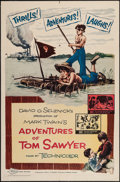 "Movie Posters:Adventure, The Adventures of Tom Sawyer (NTA, R-1958). One Sheet (27"" X 41""),Insert (14"" X 36""), & Lobby Card Sets of 4 (2) (11"" X 14""...(Total: 10 Items)"