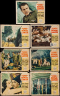 "Movie Posters:Adventure, The Lives of a Bengal Lancer (Paramount, 1935). Lobby Cards (7)(11"" X 14""). Adventure.. ... (Total: 7 Items)"