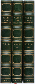 Books:Literature Pre-1900, Popular Tales and Romances of the Northern Nations, inthree volumes. London: W. Simpkin and R. Marshall, 1823.Thre... (Total: 3 Items)