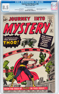 Silver Age (1956-1969):Superhero, Journey Into Mystery #83 (Marvel, 1962) CGC VF+ 8.5 Off-white towhite pages....