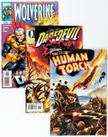 Modern Age (1980-Present):Miscellaneous, Marvel Modern Age Long Box Group (Marvel, 1997-99) Condition: Average NM-....