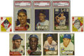 Baseball Cards:Sets, 1951-1953 Topps Baseball Near Complete and Partial Sets withAutographs. Group includes a 1951 Topps near complete set (49/5...(Total: 3 sets)