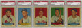 Baseball Cards:Sets, 1954 Red Heart Dog Food Baseball Complete Set (33). This set of 33 cards, issued by the Red Heart Dog Food Co., featured han...