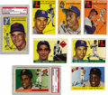 Baseball Cards:Sets, 1954-1955 Topps Baseball Near Complete Sets with Autographs. Includes a 1954 Topps near complete set (245/250). Highlights ... (Total: 2 sets)