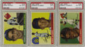Baseball Cards:Sets, 1955 Topps Baseball Complete Set (206). Numerically the smallest of Topps annual issues, the 1955 issue consists of 206 hori...
