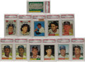 Baseball Cards:Lots, 1961 Topps Baseball PSA NM-MT 8 Lot of 116. Each of the 116 cardsin this lot has been graded NM-MT 8, none with qualificat...