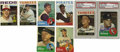 Baseball Cards:Sets, 1963-1964 Topps Baseball Near Complete Sets with Autographs.Includes a 1963 Topps near complete set (568/587). Highlights ...(Total: 2 sets)