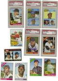 Baseball Cards:Sets, 1965-1966 Topps Baseball Near Complete Sets with Autographs. Includes a 1963 Topps near complete set (568/587). Highlights ... (Total: 2 sets)