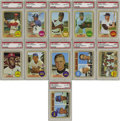 Baseball Cards:Sets, 1968 Topps Baseball High-Grade Complete Set (598). With a border that appears to be a burlap fabric, this issue is well know...