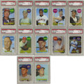 Baseball Cards:Sets, 1969 Topps Baseball High-Grade Complete Set (664). This popular set marks the last card for Mickey Mantle and the first for ...