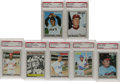 Baseball Cards:Lots, 1970 Topps Baseball PSA Mint 9 Lot of 115. With their gray-borderedissue that heralded the onset of a new decade, Topps in...