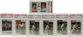 Baseball Cards:Lots, 1974 Topps Baseball PSA Mint 9 Lot of 135. Massive collection of135 Mint 9 cards from the 1974 Topps issue, all without qu...