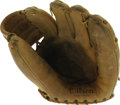 Baseball Collectibles:Others, 1958-59 Nellie Fox Game Worn Glove. This little glove was as goodas Gold for the Hall of Fame second baseman, who sported ...