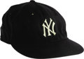 "Baseball Collectibles:Hats, 1961 Mickey Mantle World Series Game Worn Cap. ""The best team Iever saw, and I really mean this, was the '61 Yankees,"" ..."