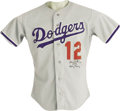 Baseball Collectibles:Uniforms, 1991 Gary Carter Spring Training Game Worn Uniform. One of thetoughest uniforms out there from this Hall of Fame catcher, ...