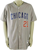 Baseball Collectibles:Uniforms, 2003 Sammy Sosa Home Run #504 Game Worn Jersey. Sammy slammed himself into a tie with Eddie Murray on the home run charts t...