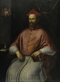 Old Master:Italian, AFTER TITIAN (19th Century). Cardinal Lavelle. Oil oncanvas. 51in. x 37in.. ...