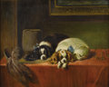 19th Century European:Sporting, M. GOTTSDOENKER (20th Century). Spaniels. Oil on canvas.24in. x 30in.. Signed lower right. ...