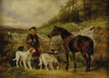 19th Century European:Sporting, JAMES HARDY II (British 1832-1899). The Young Guille, 1887.Oil on canvas. 16in. x 22in.. Signed and dated lower left. P...
