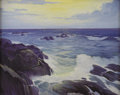 American:Marine, JOHN STEIB (American 20th Century). The Coast of Maine. Oilon canvas. 24in. x 30in.. Signed lower right. ...