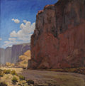 American:Western, JOHN MODESITT (American b. 1955). The Great West. Oil oncanvas. 24in. x 24in.. Signed lower right. ...