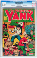 Golden Age (1938-1955):Superhero, Fighting Yank #10 (Nedor Publications, 1944) CGC VF 8.0 Off-white pages....