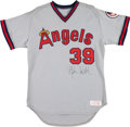 Baseball Collectibles:Uniforms, 1980's Mike Witt Game Worn California Angels Jersey. ...