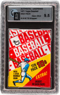Baseball Cards:Unopened Packs/Display Boxes, 1971 Topps Baseball 6th Series Wax Pack GAI Gem Mint 9.5 In 1970Wrapper....