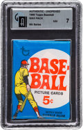 Baseball Cards:Unopened Packs/Display Boxes, 1969 Topps Baseball 6th Series 5-Cent Wax Pack GAI NM 7 - PossibleNolan Ryan! ...