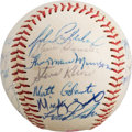 Autographs:Baseballs, 1969 Syracuse Chiefs Team Signed Baseball with Thurman Munson....