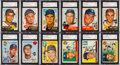 Autographs:Sports Cards, Signed 1953 - 1955 Topps Baseball Card Collection (150+)....