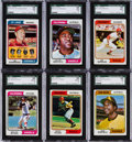 Baseball Cards:Sets, 1974 Topps Baseball Complete Set and Traded Set (704). ...