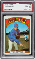 Baseball Cards:Singles (1970-Now), 1972 Topps Tom Seaver #445 PSA Gem Mint 10 - The Ultimate PSAExample! ...