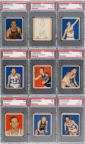 Basketball Cards:Lots, 1948 Bowman Basketball PSA Graded Collection (21 Different). ...