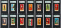 """Boxing Cards:General, Very Rare 1910 E78 Anonymous """"Twenty-Five Prize Fighters"""" SGCComplete Set (25) - #2 on the SGC Set Registry. ..."""
