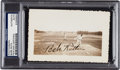 Autographs:Photos, Circa 1932 Babe Ruth Signed Original Snapshot Photograph....